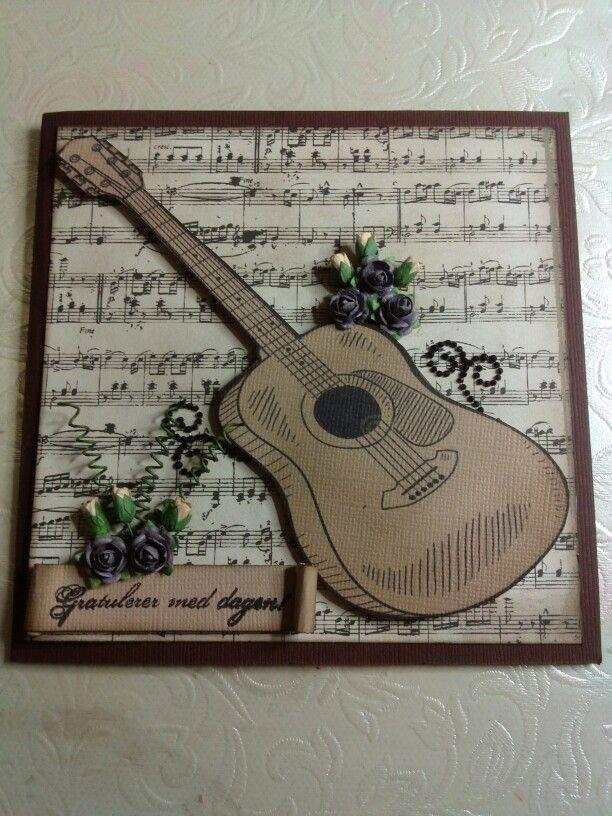 Et kort til en musikalsk mann..