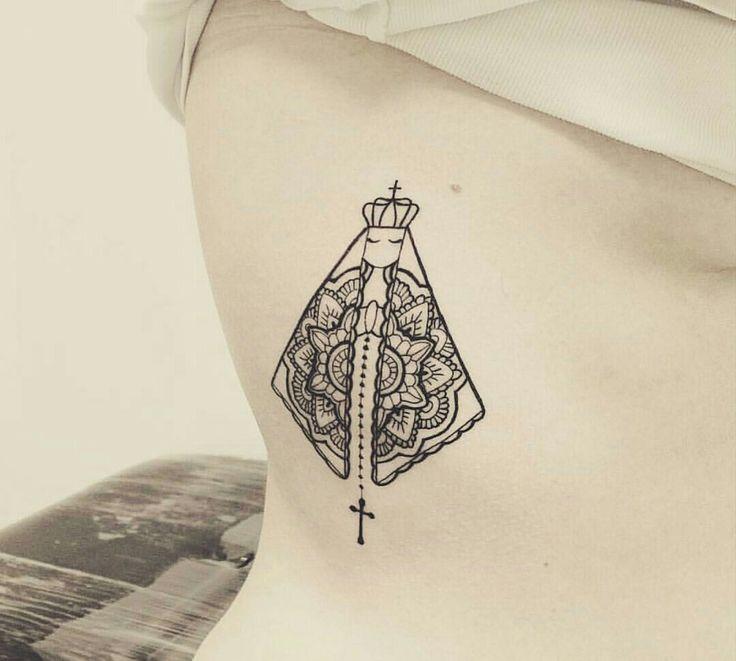 Tatuagem Nossa Senhora Aparecida.