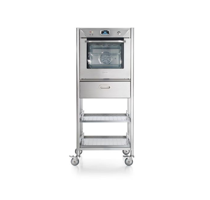 Alpes Inox - BUILT-IN ELECTRIC OVEN 60 - Built-in electric oven 60 cm wide with 62.5 litre chamber made of stainless steel.