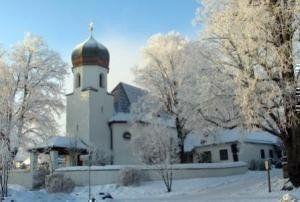 Murnau am Staffelsee, Evan. Christuskirche