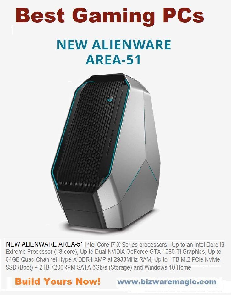 New Alienware Area-51 Best Gaming Desktop PCs  Intel Core i7 X