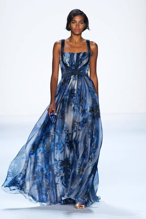 Badgley Mischka Spring 2014 Ready-to-Wear Runway - Badgley Mischka Ready-to-Wear Collection
