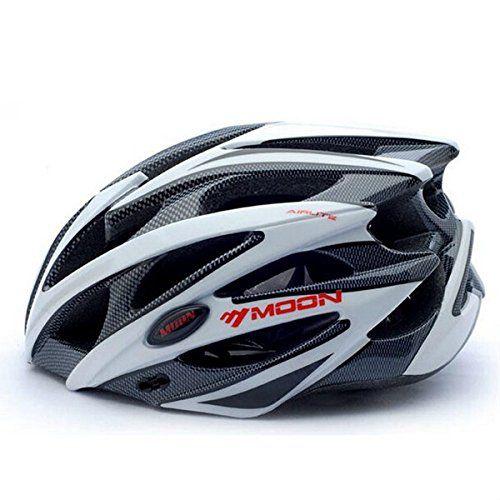 Especificaciones:  Materiales: EPS(body), PC(shell)  Tamaño: L 58-61cm M 55-58cm S 52-55cm  Color: como la demostración de PC  Peso: 275g  Nota:  Cada color tiene tamaño M y L, esperar que el rosa tiene tamaño S y M.  Paquete incluye:  1 x casco de bicicleta                  Fea... http://gimnasioynutricion.com/maquinas/remo/mamaison007-de-la-luna-bicicleta-casco-ciclismo-unibody-carcasa-ultraligera-bici-mtb-05-m/