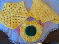 Hand Crochet Kitchen Set