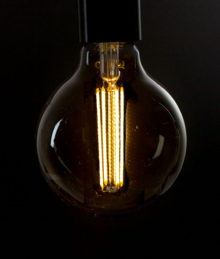 LED FILAMENT BULB | Smoked Large Globe Long Filament Bulb E27
