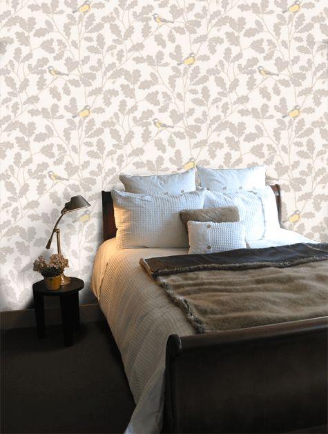 Bedroom | Wallpaper Waldemar | Sandberg Wallpaper