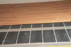 Installation plancher chauffant électrique