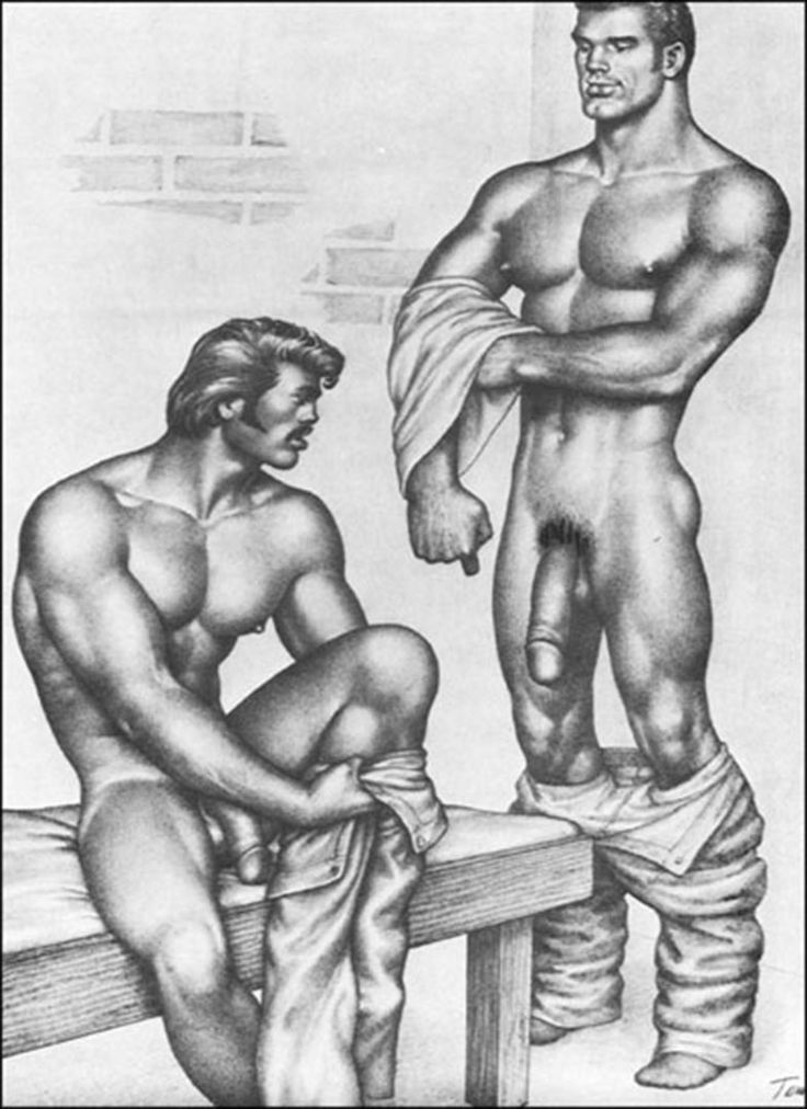 from Joshua tom of finland gay art