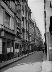 La rue de la Huchette. Paris (Vème arr.).