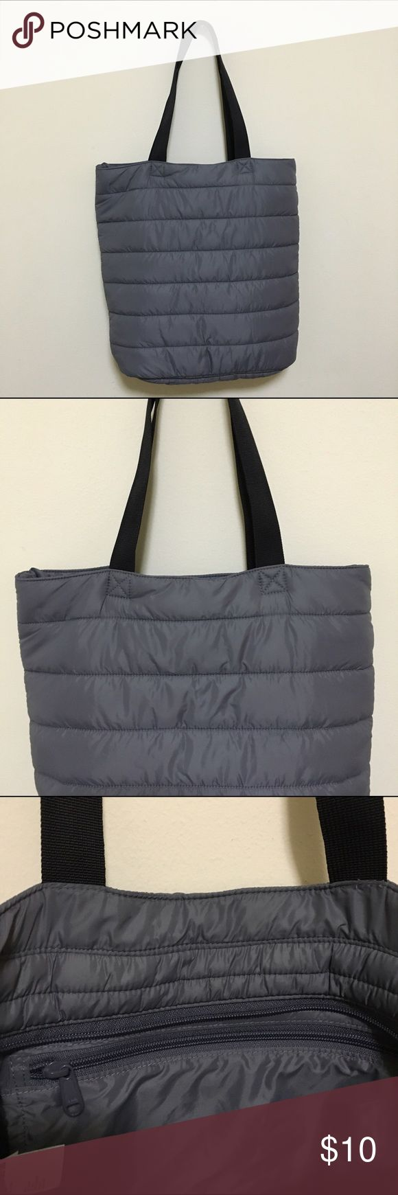 Uniqlo Tote Bag brand new condition • soft + very lightweight • extra pocket inside Uniqlo Bags Totes