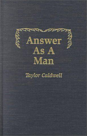 Great Taylor Caldwell book!