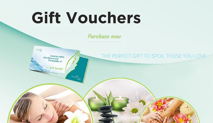 Image Oasis Spa have gift vouchers to make it easier to treat your mother to a relaxing experience