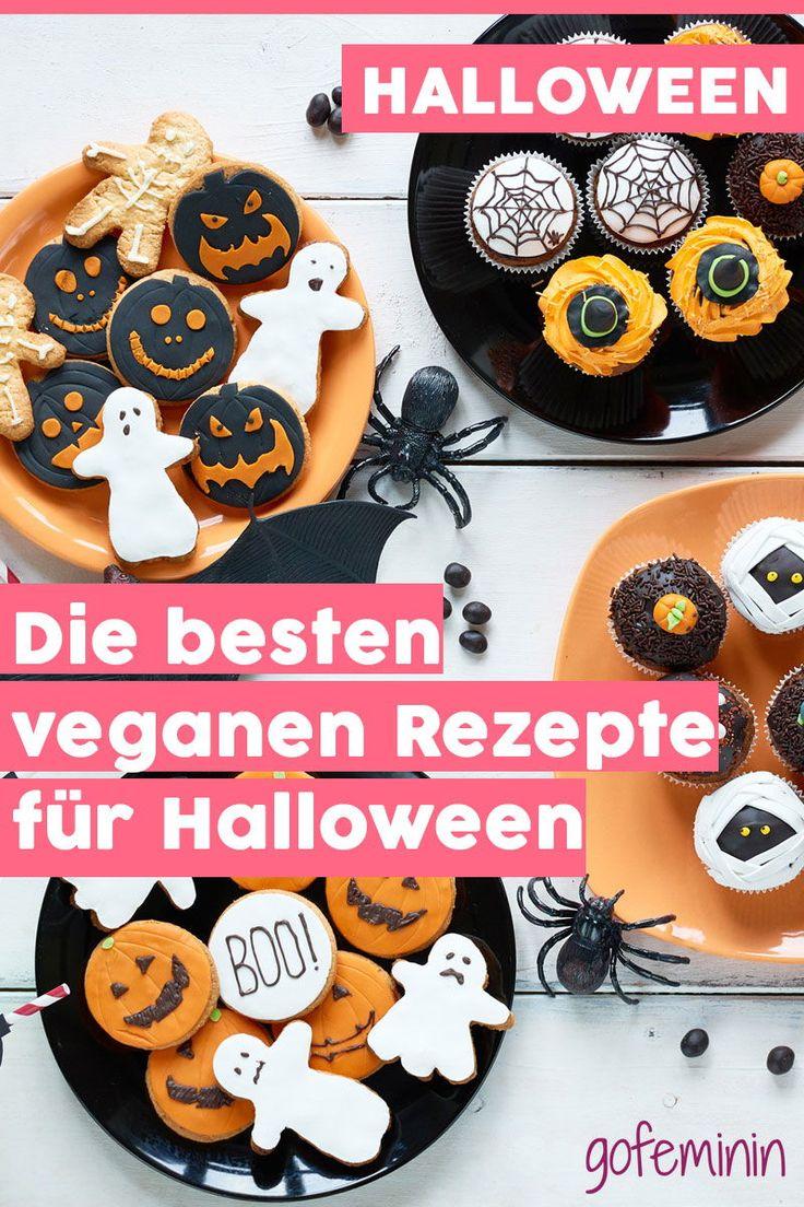 4 vegane HalloweenRezepte, die auf keiner Party fehlen