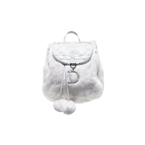 dior white sweet bag ❤ liked on Polyvore featuring bags, backpacks, borse, dior, purses, daypack bag, christian dior, backpack bags, white backpack and knapsack bag