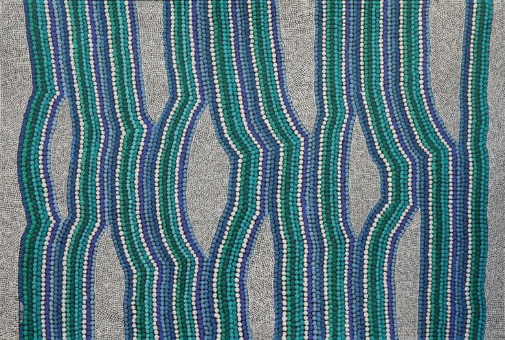 About the Sea, Amanda Westley, Land Lines exhibition   #AboriginalArt