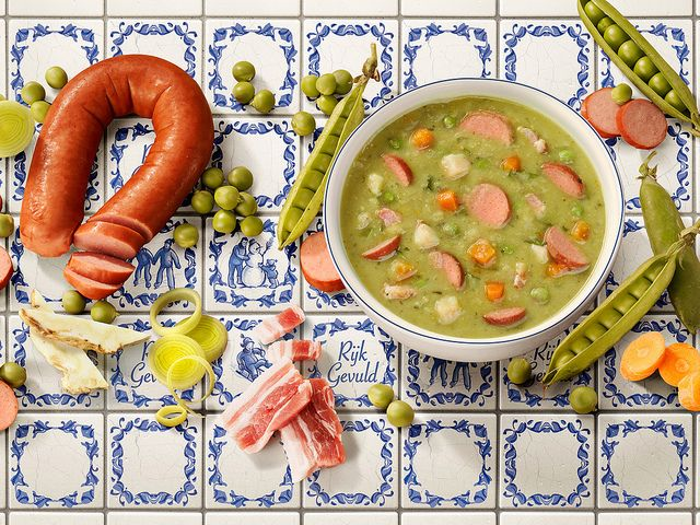 Snert!  Dutch split pea soup :-)
