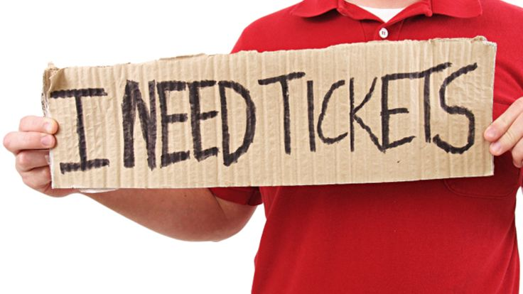 How to get...less expensive tickets.