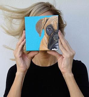 """LIKE"" my Facebook page!! Pls.  www.facebook.com/popartpetportraitsPortraits Pop, Art Dogs, Pets Portraits, Bulldogs Custom, Painting Custom, Dogs Art, Bulldogs Painting, Custom Dogs, Dogs Portraits"