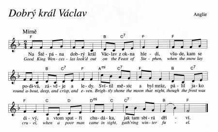 Dobrý král Václav - Good King Wenceslas | Víra.cz, křesťanství