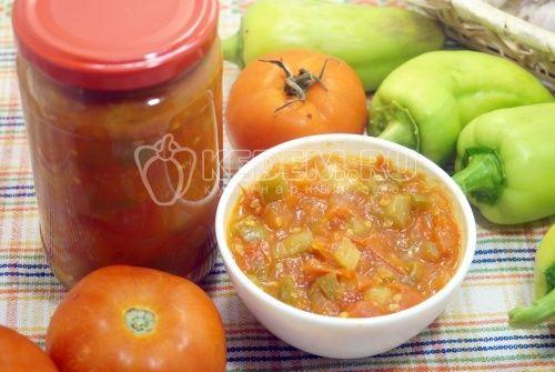 Домашний кетчуп Лечо