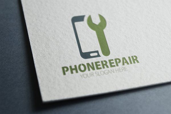 Phone Repair Logo - Logos