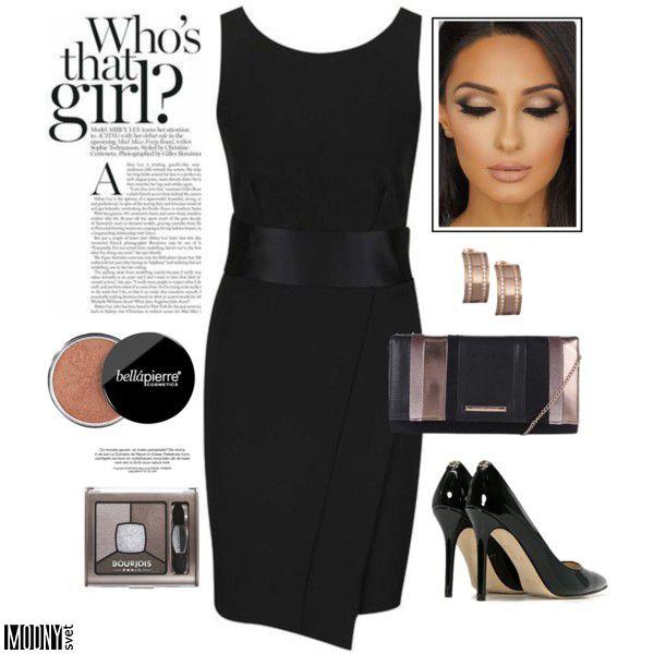 čierne-spoločenské-šaty-odhalený-chrbát-listová-kabelka-malé-čierne-lodičky