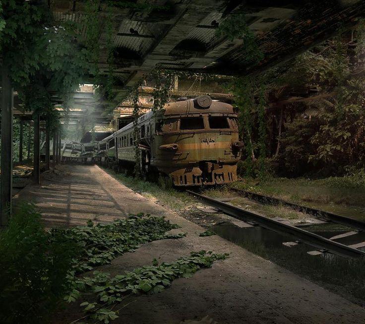 Abandoned Train...