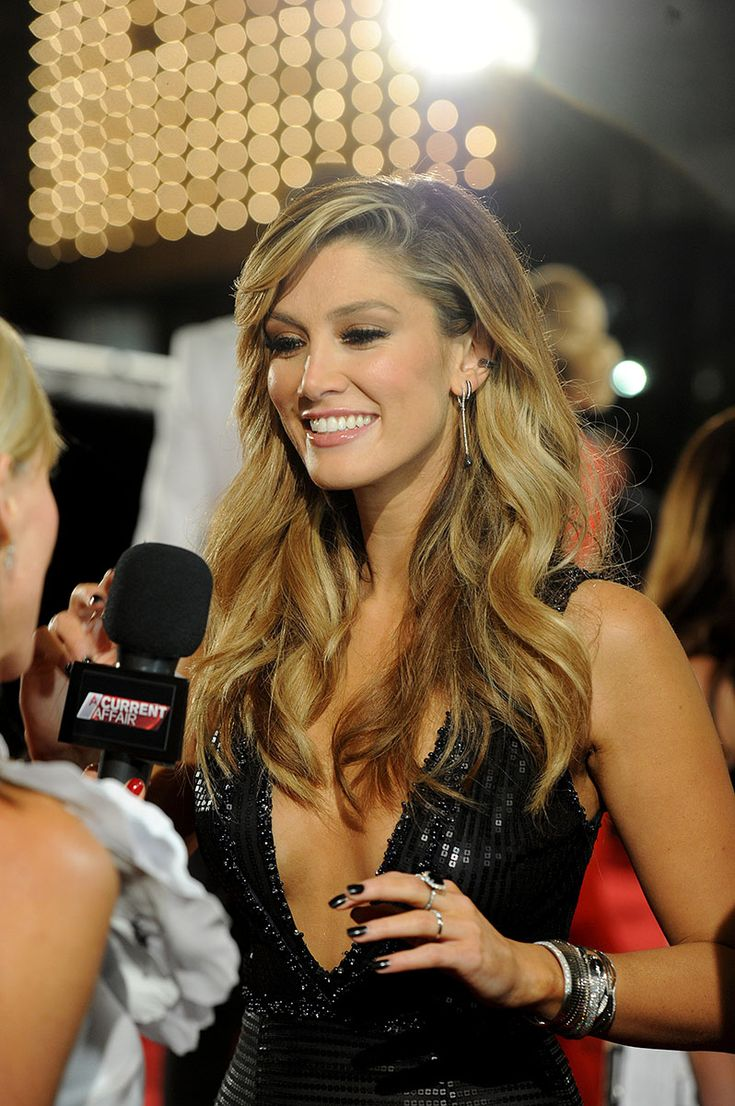 2015 Logies in pictures : No stranger to Australian eyes and ears: Delta Goodrem.