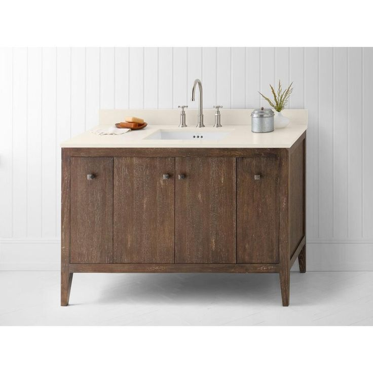Awesome Rustic Single Bathroom Vanity Images - Best image 3D home ...