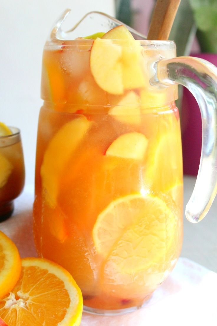 This non alcoholic sangria recipe is a luscious, refreshing drink that is great …
