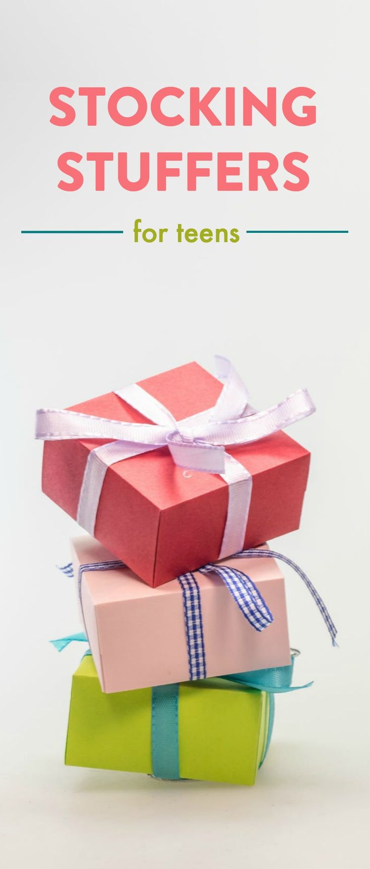 I have a list of tons ofStocking Stuffer Ideas For Teens that we all would lov...