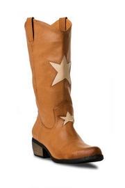 MIA Rockstar Cowboy Boot in Beige