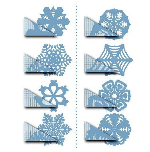 Fun Holiday Craft - Paper Snow Flakes @Karen Lee #craft #holidays: Paper Snowflakes Patterns, Idea, Christmas Crafts, Cutout, Templates, Kids, Diy, Paper Crafts, Cut Outs