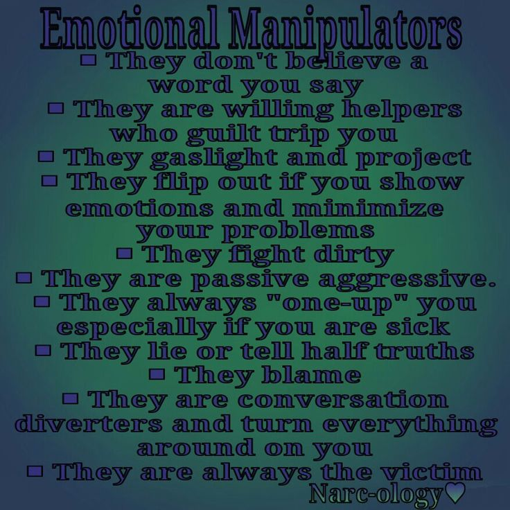 Emotional Manipulators | Emotional vampire | Pinterest ...