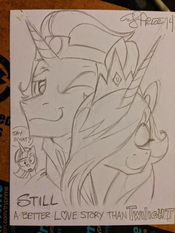 Equestria Daily: Sketches, Crossovers, and General Pony Sillyness from the Twitter of Andy Price