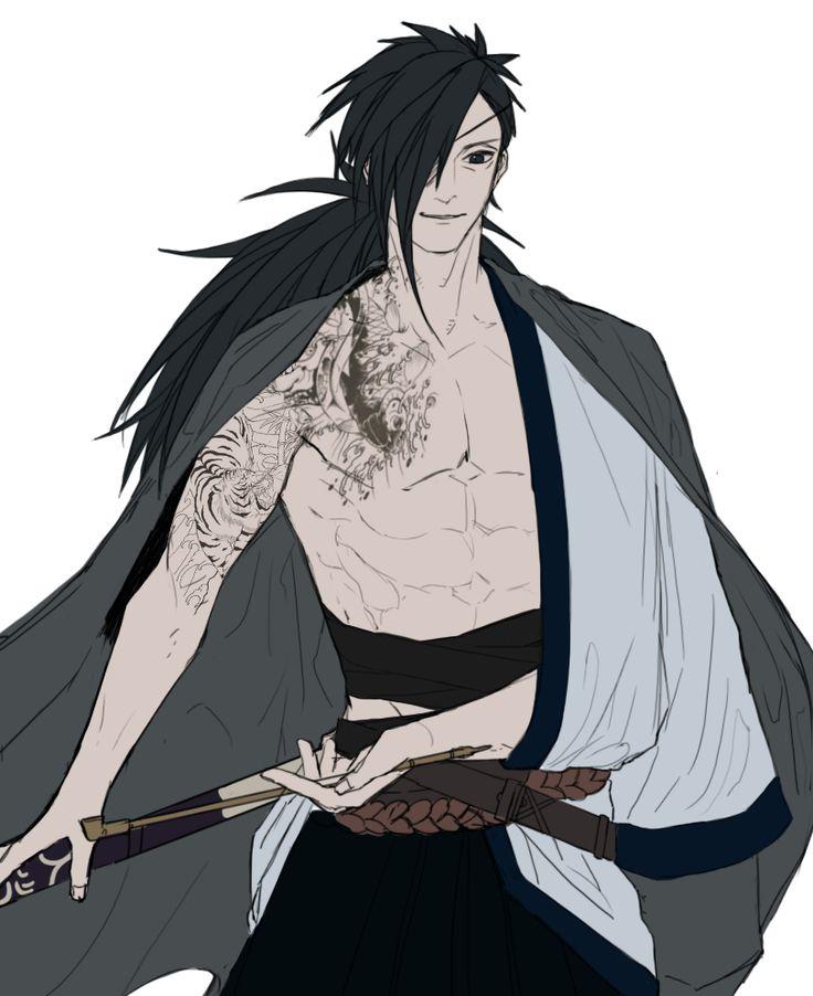 Madara Samurai Shinigami <3