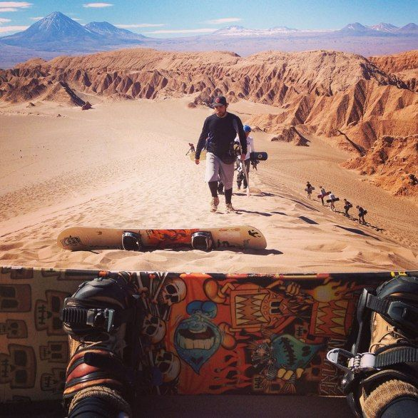 Announcing The Dream Trip Photo Contest Finalists: Sandboarding in San Pedro de Atacama, Chile   Condé Nast Traveler - September 23, 2013
