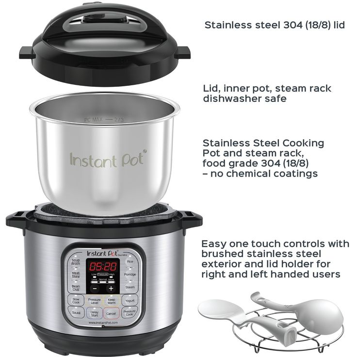 Instant Pot Instant Pot Duo Mini The Number 1 Selling Multi Cooker Combines 7 Kitchen