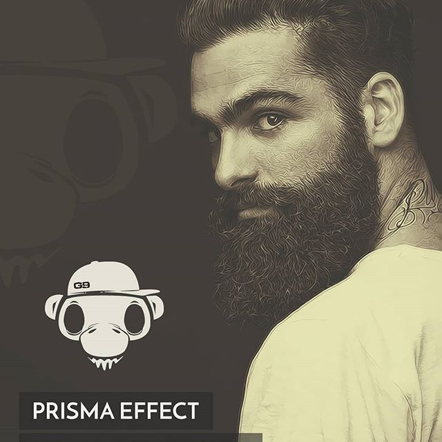 Prisma effect using photoshop part#4   #photoshop #topazlabs #prisma #vector #vectorart #vexel #vexelart #beards #beardsman #beardsofinstagram #gendatgraphic #random