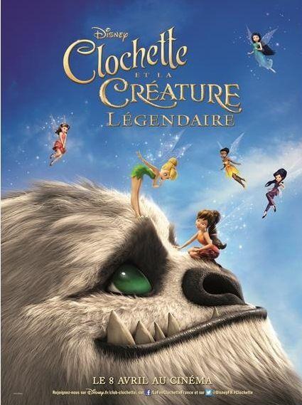 La fée Clochette est de retour au cinéma. Cette fois, elle va devoir oublier ses préjugés et aider la Créature Légendaire à sauver la vallée des fées…