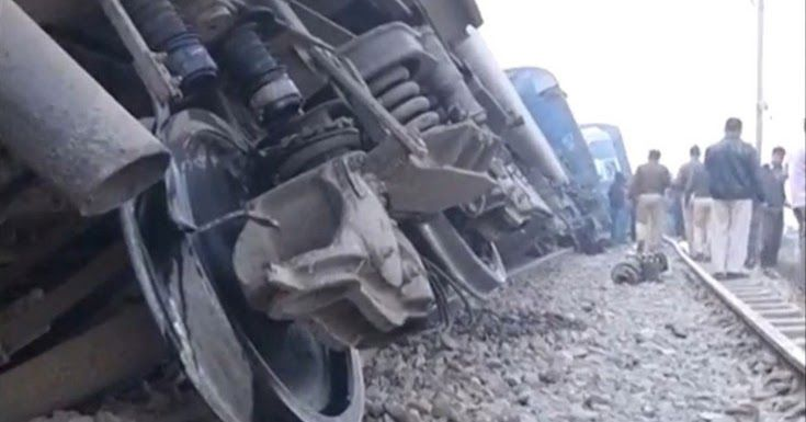 Ξεπερνούν τους 90 οι νεκροί από εκτροχιασμό τρένου στην Ινδία