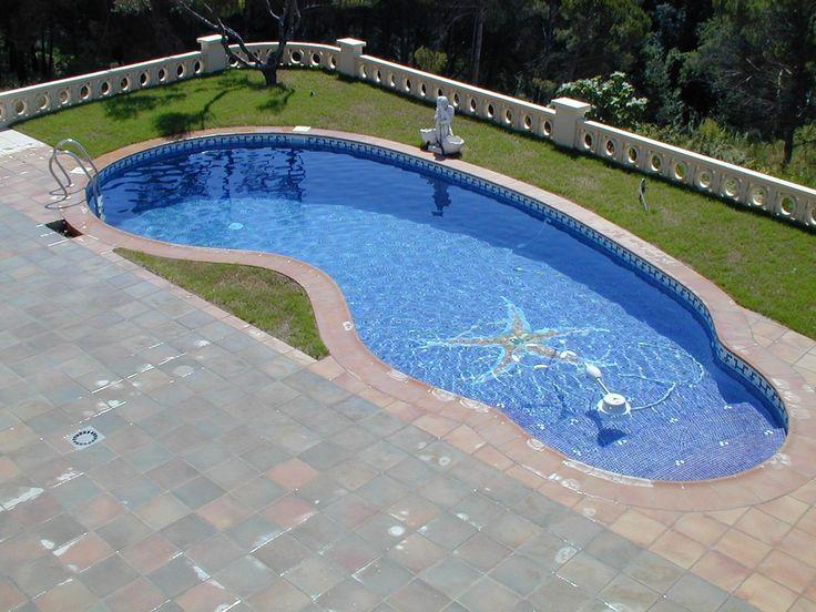 las 25 mejores ideas sobre piscina con forma de ri n en