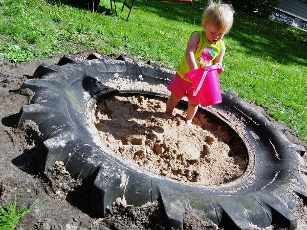 From Tire to Sandbox