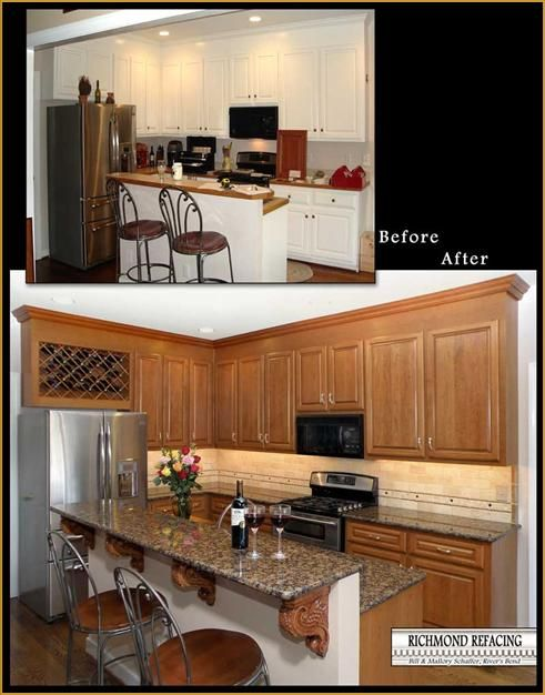 17 best ideas about cabinet refacing cost on pinterest - Refacing kitchen cabinets ideas ...