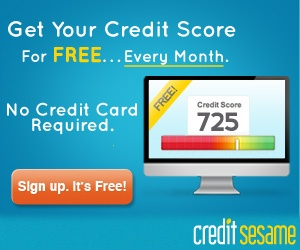 Get your credit score every month for free! No credit card required. Sign up for free!