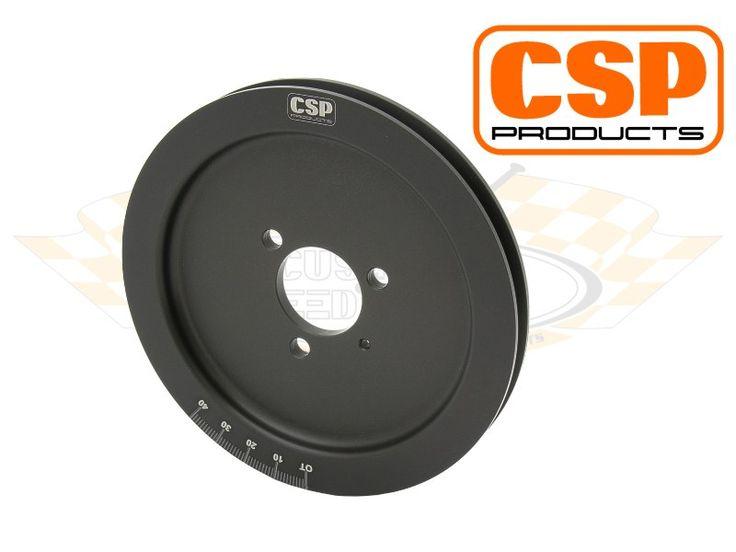 Crank Pulley Type-4   Engine , Crankshaft and Flywheel , Pulleys , Pulleys Type-4 for Beetle, Karmann Ghia, Bus, etc ::: Custom & Speed Parts (CSP)