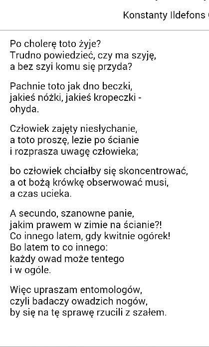 konstanty idefons Gałczyński