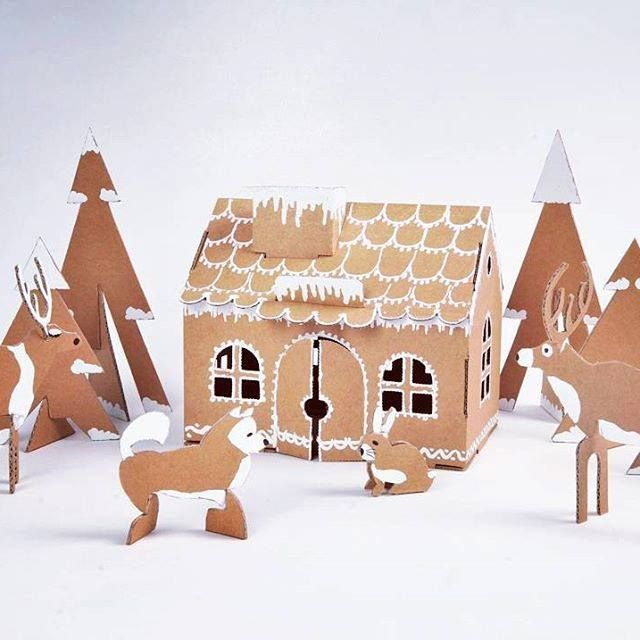 Start getting into the Christmas spirit with Leolandia craft construction and a whole lot of imagination. This moneybox is so versatile it's totally brilliant. Love those simple ideas!