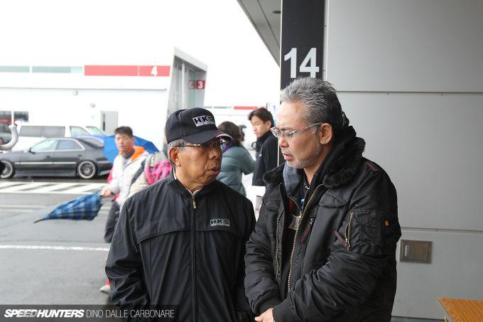 The late Hiroyuki Hasegawa of tuning house HKS
