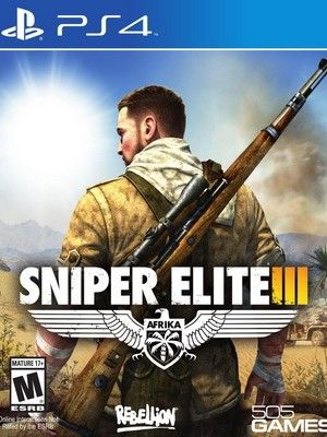 Sniper Elite III, cool with the slow down kills that show the person